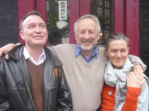 L to R: Alexis Rowell, Mike Grenville, Charlotte Du Cann