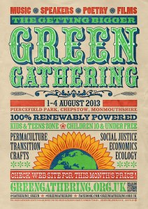Green Gathering Flyer