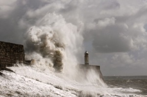 A storm in Porthcawl